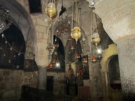 Церковь Святой Елены в храме Гроба Господня