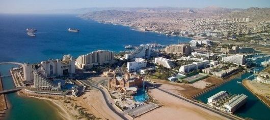 Эйлат - курорт Израиля на Красном море