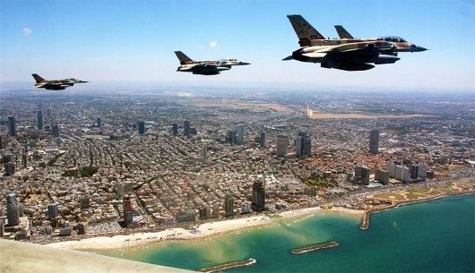 Парад военной техники в честь Дня независимости Израиля