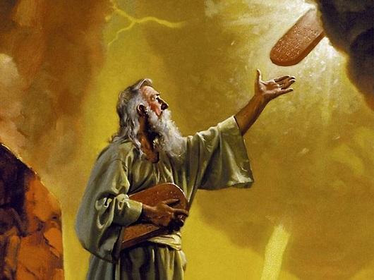 похоже завещание богом моисею о других народах главное