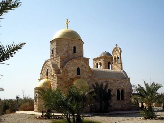 Православный храм Иоанна Крестителя в Вади эль-Харар