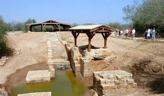 Вади эль-Харар - место крещения Иисуса Христа