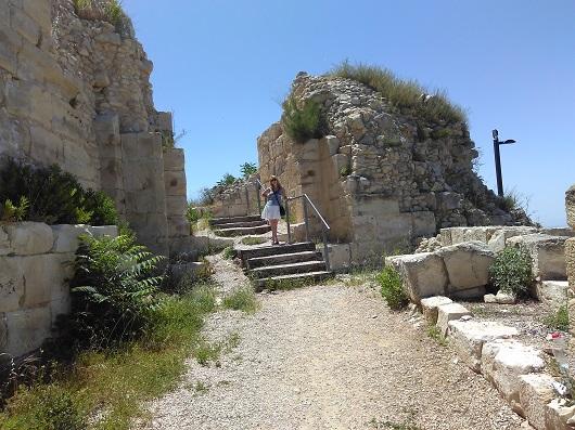 Руины крепости крестоносцев Сафет (Мецуда)