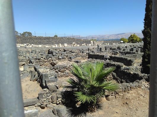 Руины Капернаума - города Иисуса