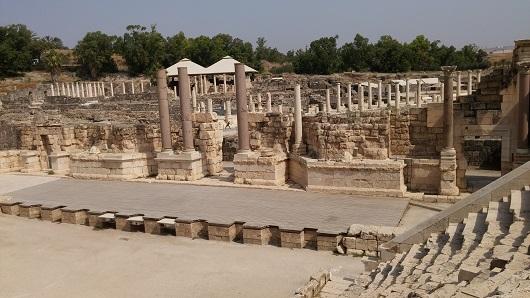 Римский театр в Бет-Шане (Скифополисе)