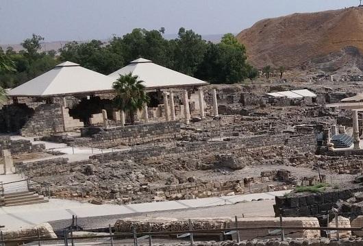 Римские бани в Бет-Шеане (Скифополисе)