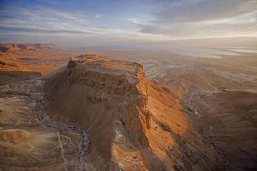 Горная крепость Массада (Израиль)
