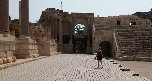 Римский театр в Бет-Шеане (Скифополисе)