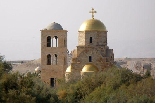 Православный Храм Иоанна Крестителя в Вади эль-Харар   (Иордания)