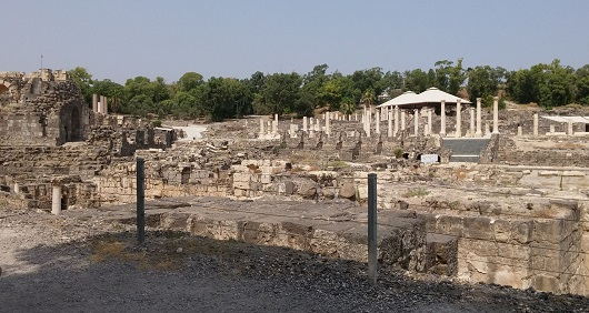 рРимские бани в Бет-Шеане