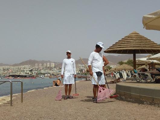 Пляж отеля Дан (Эйлат)