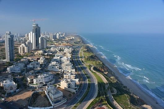 Нетания – крупнейший курорт Израиля на Средиземном море