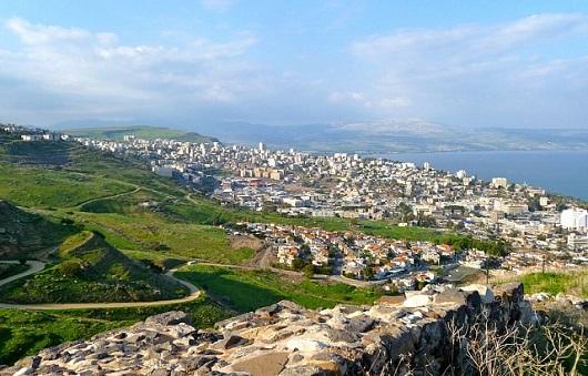 Тверия - курорт Израиля на берегу озера Кинерет
