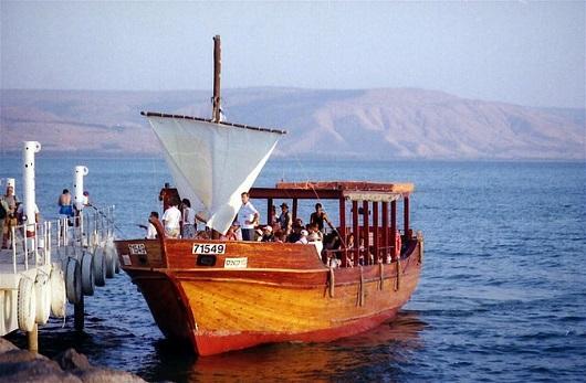 Кибуц Гиносар  (галилейское море)