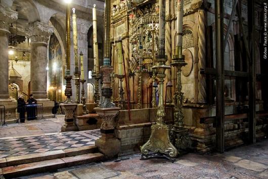 Кувуклия в храме Воскресения Христова