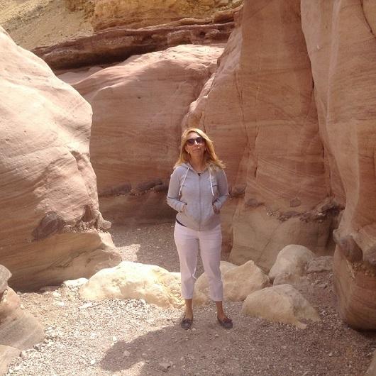 Красный каньон в Эйлате