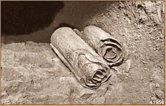 Медные свитки, найденные в одном из гротов