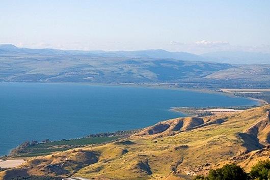 Галилейское море (озеро Кинерет)
