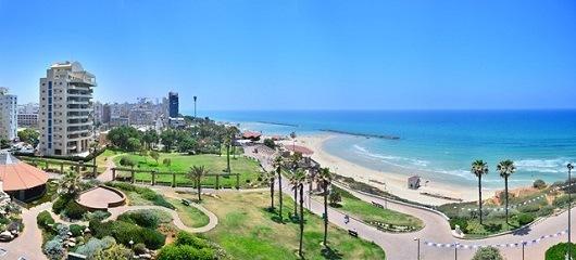 Нетания - курорт Израиля на средиземном море