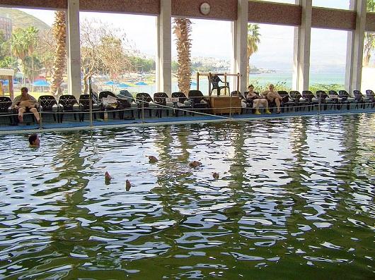 Хамей Тверия крытый бассейн с термальной водой