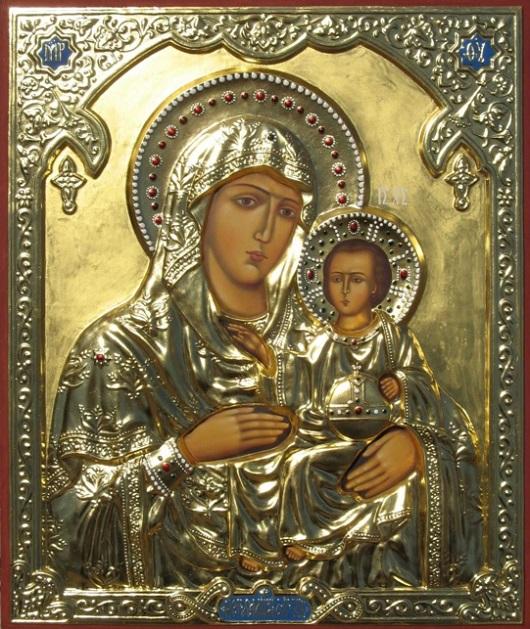 Икона Иерусалимской Богоматери