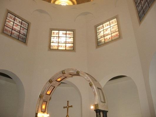 Купол Церкви Заповедей Блаженства