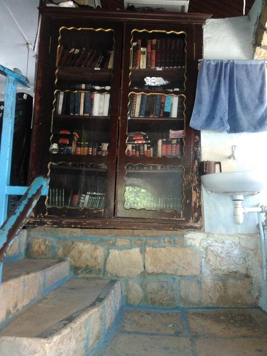 Вход в синагогу Косов (Цфат)