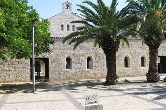 Церкви Умножения Хлебов и Рыб в Табхе