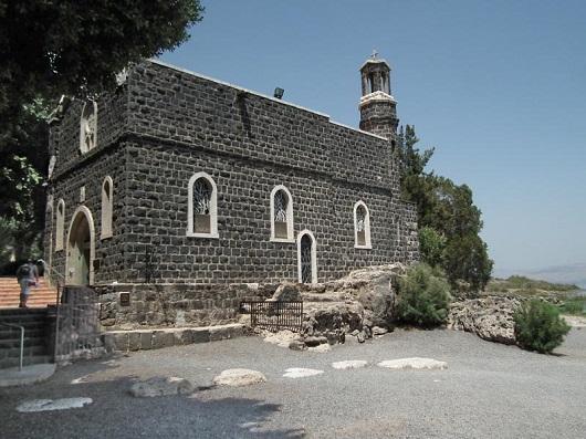 Францисканская Церковь первенства Апостола Петра в Тахбе