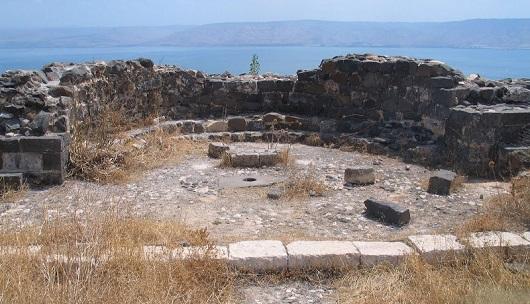 Останки якорной церкви на горе Береники