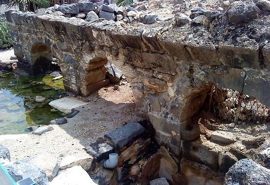 Остатки римских бань в национальном парке Хамат Тверия