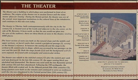 Так по мнению археологов выглядел Римский театр и его окрестности