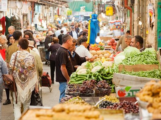 Махане Иегуда - самый знаменитый рынок Израиля