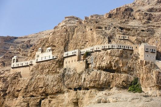 Монастырь Искушения на горе Каранталь
